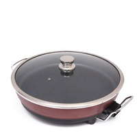 44cm Aluminum non-stick coating electric pizza pan and round grill