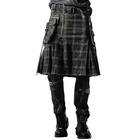Hot Sale Knitted Fashion gothic skirt for men Q-225