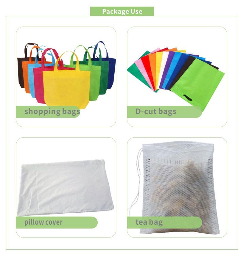 Нетканый материал 100% полипропилена Spunbond нетканый материал, поставляемый производителем