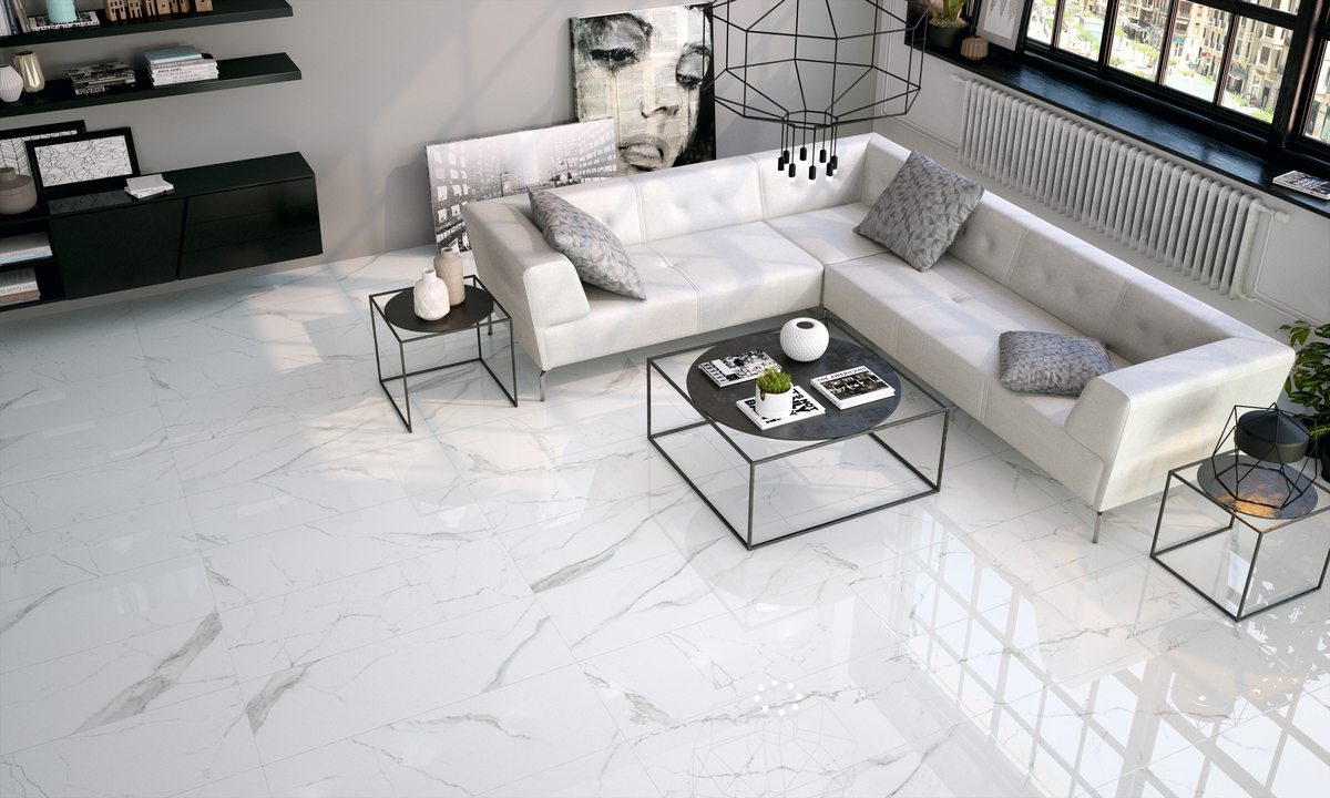 Image result for carrara marble flooring