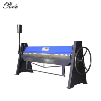 Air conditioning duct folding machine with 2500mm length manual plate bending machine for sale