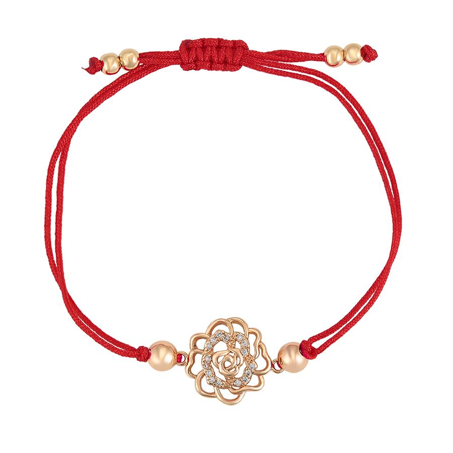 77001 Xuping Valentine's Day present charm Wholesale Price Elegant noble rose bracelet
