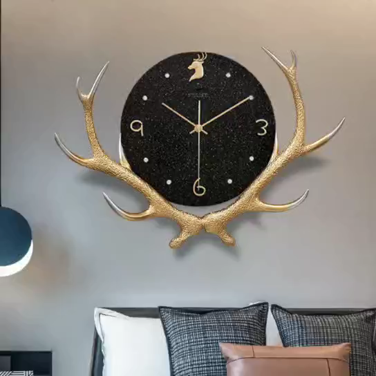 custom wall clocks wall art painting  arts modern wall hanging clock decor