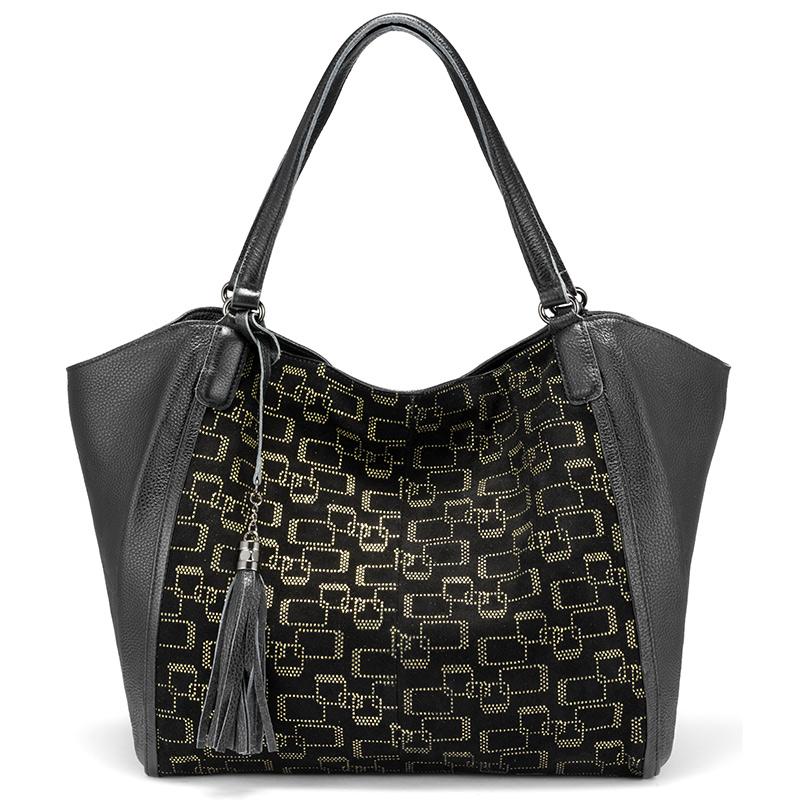 398/5000 Женские сумки для отдыха Realer, женская натуральная кожа, большие женские сумки через плечо, большая сумка через плечо, кисточка 2020(Китай)