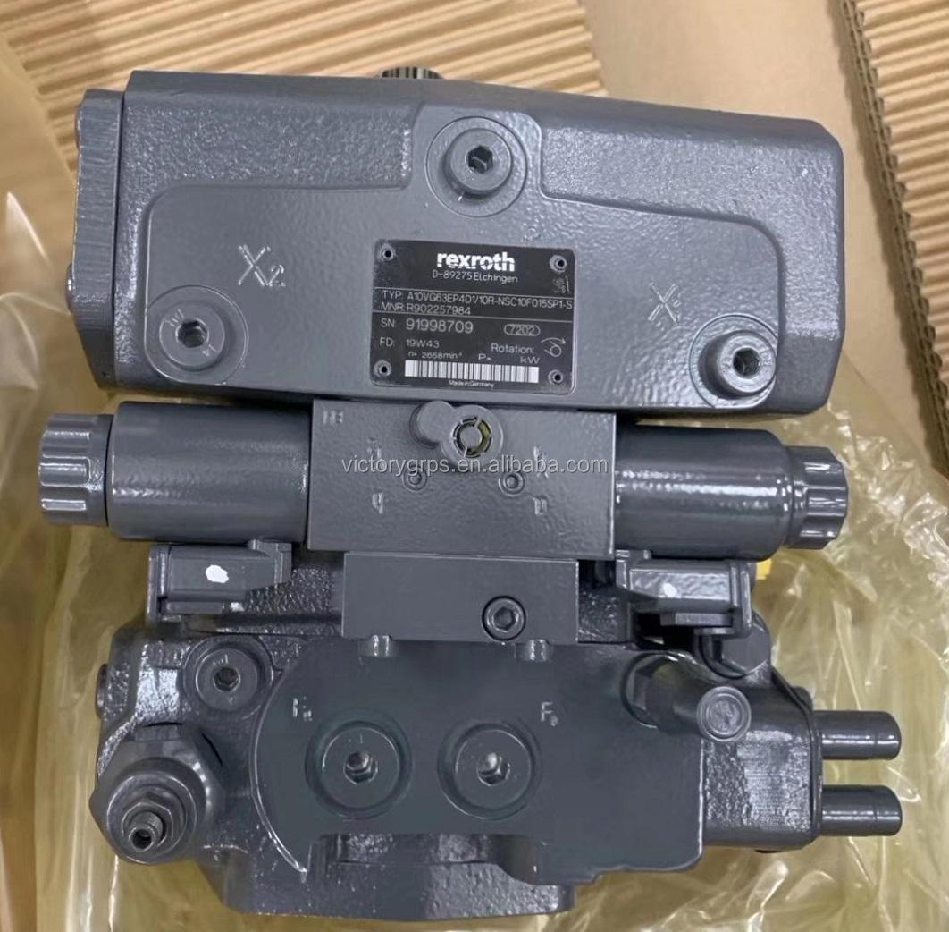 Axial Piston Brueninghaus Hydromatik A10VG18 A10VG28 A10VG45 A10VG63 Rexroth A10VG charge pump