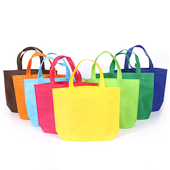 Customized Durable Heavy Duty Non Woven Ultrasonic Bags for Shopping