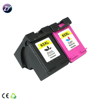 63xl refillable ink cartridge compatible printer deskjet 2130