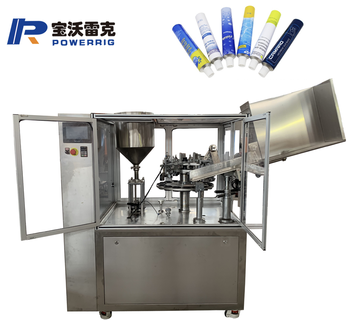 Automatic small glue tube filling sealing machine for gel