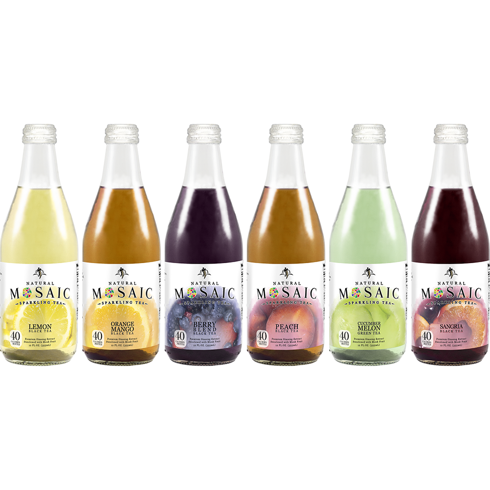 Most Popular  Natural Low Cal Sparlkling Tea Sweetened with Monk Fruit Sangria