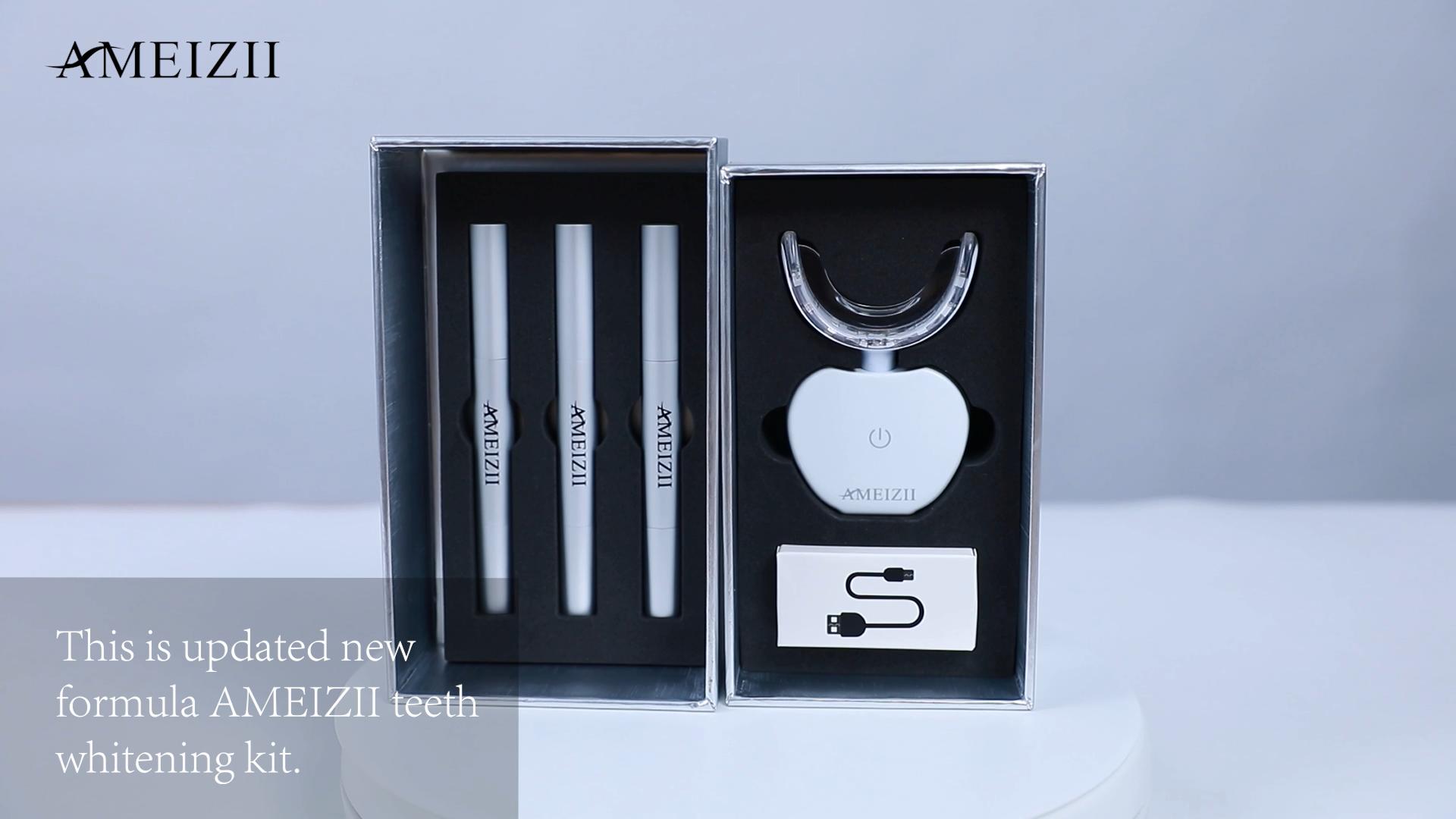 CE şarj edilebilir kablosuz diş beyazlatma lambası makinesi diş beyazlatma jel kalem kitleri su geçirmez diş beyazlatıcı Blanqueador diş