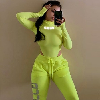 High fashion low MOQ long sleeve bodysuit women