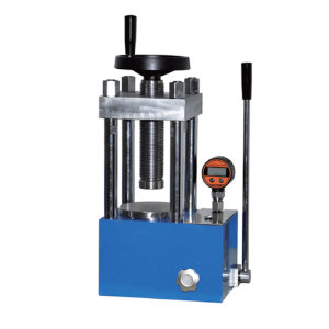 40T Mini laboratory High Pressure Control Accuracy Manual Hydraulic Digital Pellet Press