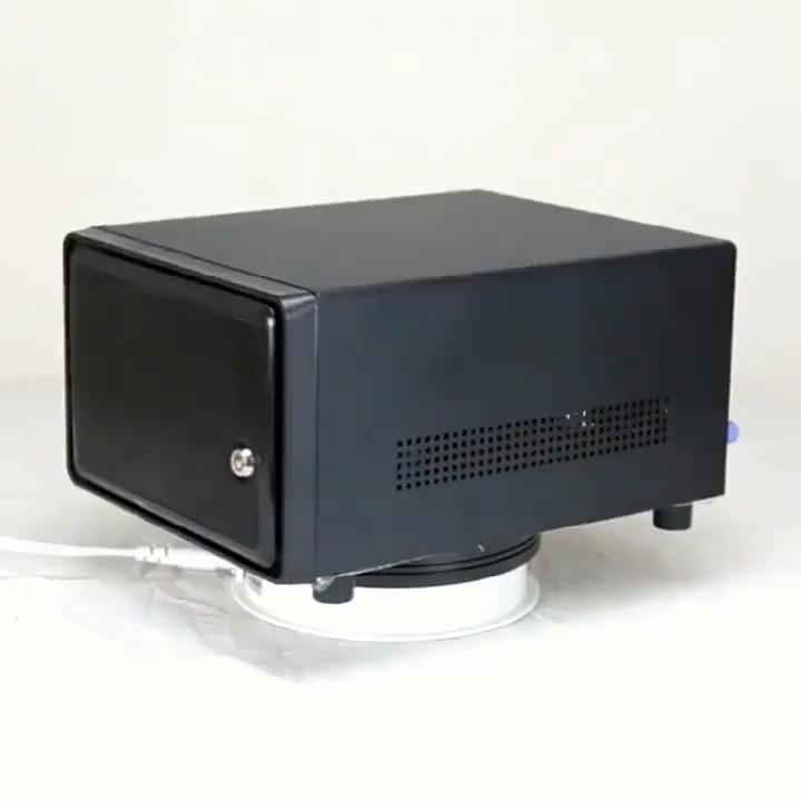 Hot Swap Caso Nas 4 Bay Mini ITX Caso di Supporto di Memorizzazione Dei Dati NAS per Micro ATX (17x17)