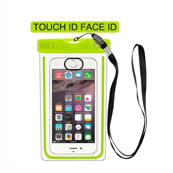 FREE SAMPLE Wholesale PVC Universal Size Underwater IPX8 Water proof Pouch Case Waterproof Phone Bag for Mobile Phone