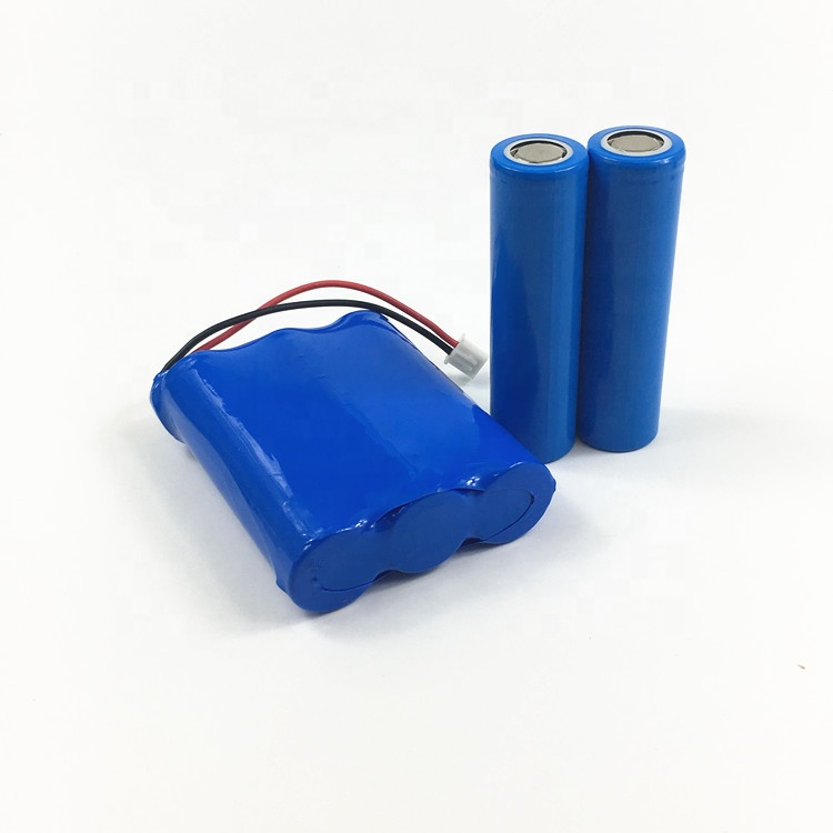 Factory Supply Lithium battery Pack18650-3S with PCB 12V 11.1V 2200mAh 2500mAh for inverter, Customized Size  Battery Pack