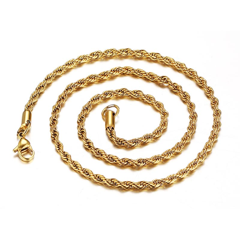 Stainless steel rope chain for pendant, Picture