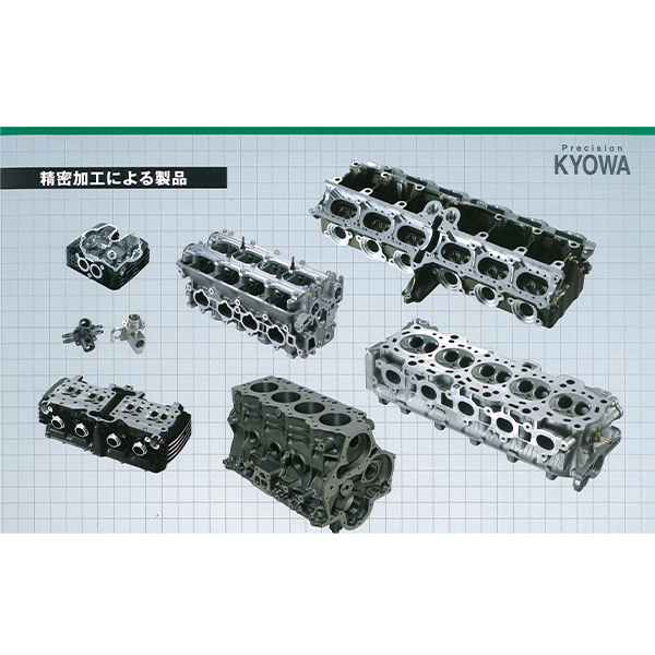 Aluminum casting and iron casting car hydraulic cylinder head