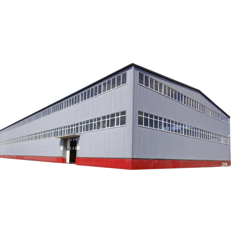 Multi-Storey Structure Steel Sketch Customized Prefabricated Function Area Workshop