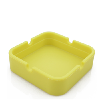 Advertising promotional gift ashtray can be customized logo plastic small square ashtray melamine