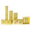 High-end 5 star elegant hotel bath amenities set