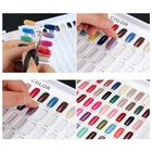 Card Wholesale 120colors Folded Nail Gel Color Display Card
