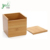 Wholesale High Quality Vanity Counter Tops Bedroom Dressers Bamboo Tissue Box