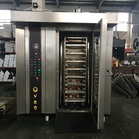 32 Trays Industrial Rotary Bakery Oven/Rotary Rack Oven/Baking Equipment For Sale