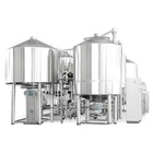 Stainless Steel 304 Brewery Equipment Prices Beer Brewing System Making Turnkey Project for Commercial