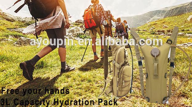 Wandelen Klimmen Kleine Rugzak Survival Outdoor Rugzak Hydration Pack Blaas Water Bag