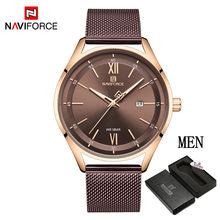 Часы NAVIFORCE для пар, Классические водонепроницаемые кварцевые часы для мужчин и женщин(Китай)