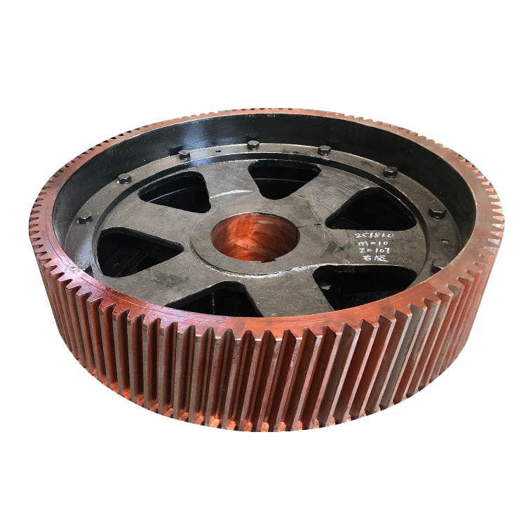 for ball mill 42CrMo /45 steel spur gear