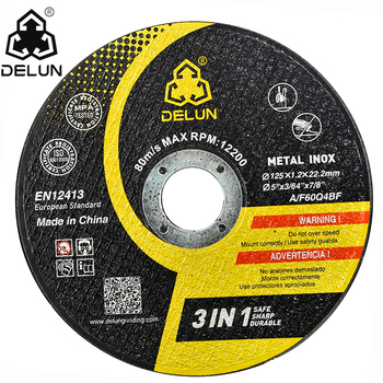 super thin 125x3.2x22.2 mm abrasive grinding wheel/cutting disc/disk for metal