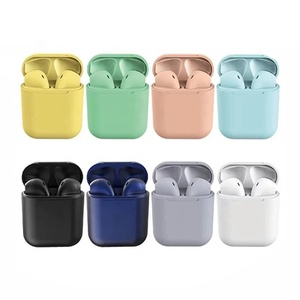 I12 TWS 2019 Hot Earphone Hands Free touch Control i12 earbuds bluetooths TWS for apple X auto pairing wireless headphones i12