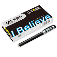 School Supplies Good Quality Student Pen Gel Ink Black Wholesale Cheap Office Gel Pen
