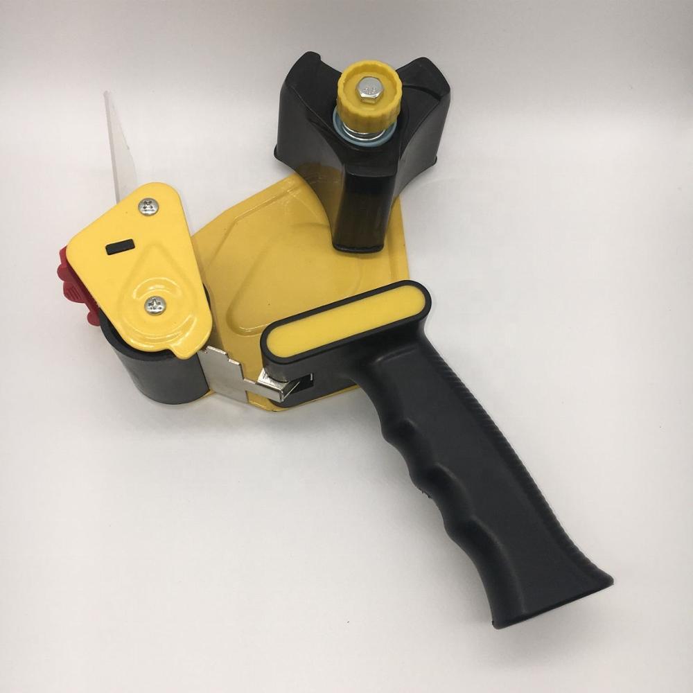 BSCI Factory Packing orange tape dispenser 2 inch lightweight industrial side loading tape dispenser for carton sealing