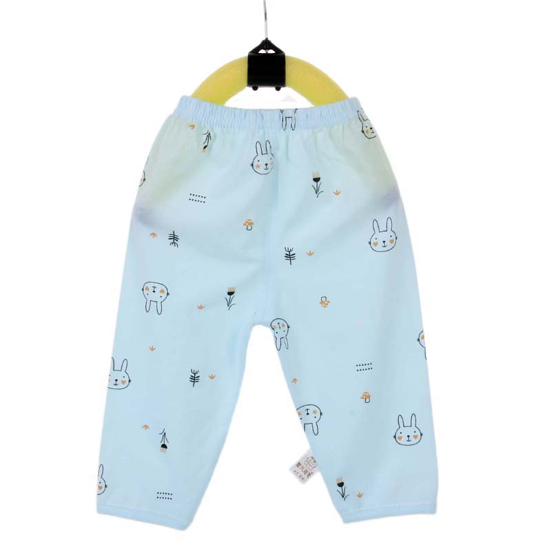 baby clothes branded brands wholesale Spring and summer cotton newborn baby pants 0-3 years old Antistatic Full length trousers
