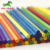 Fancy Colorful Long Flat Stick Wood Crafts Round Bar Game Sticks