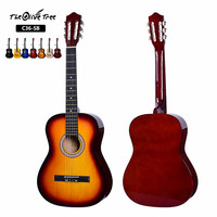 Factory direct sales 3/4 size cheap classical guitar for students practice made in china
