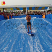 Flow rider surf wave equipment Surf simulator skate for water park