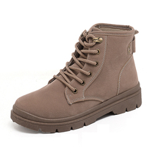 Nuove donne <span class=keywords><strong>di</strong></span> modo <span class=keywords><strong>di</strong></span> inverno scarpe Matin <span class=keywords><strong>di</strong></span> avvio medio <span class=keywords><strong>stivali</strong></span> <span class=keywords><strong>di</strong></span> grande formato