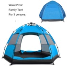 Waterproof Dome Automatic Pop-Up Outdoor Sports Tent Camping Sun Shelters