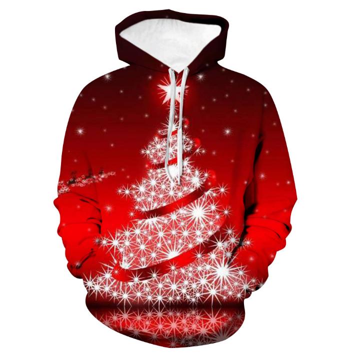 2019 Christmas decoration best gifts oversized custom logo hoodie xxxxl christmas jumpers