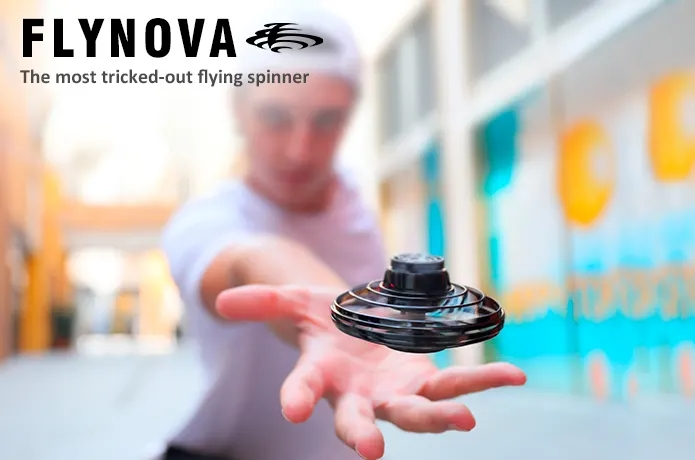 FlyNova The most tricked-out flying spinner