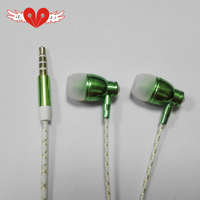 Huizhou factory good quality noise reduction most popular cool earbuds design colourful earphone