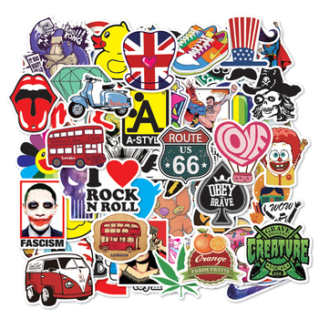 2019 Newest Design Cheap Decal Printed Various Style Custom Laptop Sticker