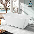 Kamali SP1842 cupc hanse cheap ceramic adult ofuro luxury bathroom whirlpool tub bathtub liners lowes freestanding bath tub