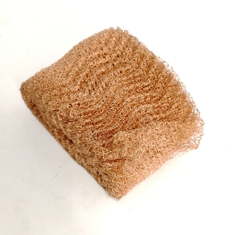 Gas filter mesh screen 50 100 micron red copper wire mesh
