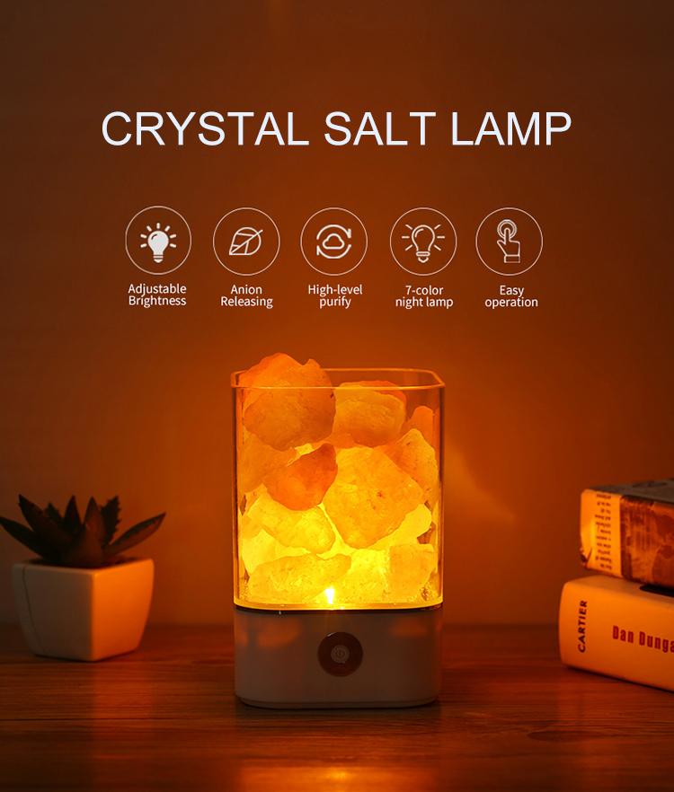 Melhor Preço de Cristal Natural Do Himalaia Rock Salt Lamp Lâmpada Lâmpada Decorativa