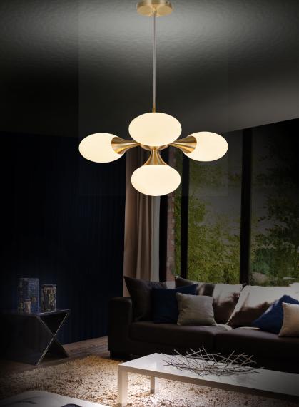 الحديثة النبيلة أنيقة قلادة ضوء E14 داخلي الديكور مصباح متدلي على شكل قلادة الأجهزة في home hotel مركز الشحن