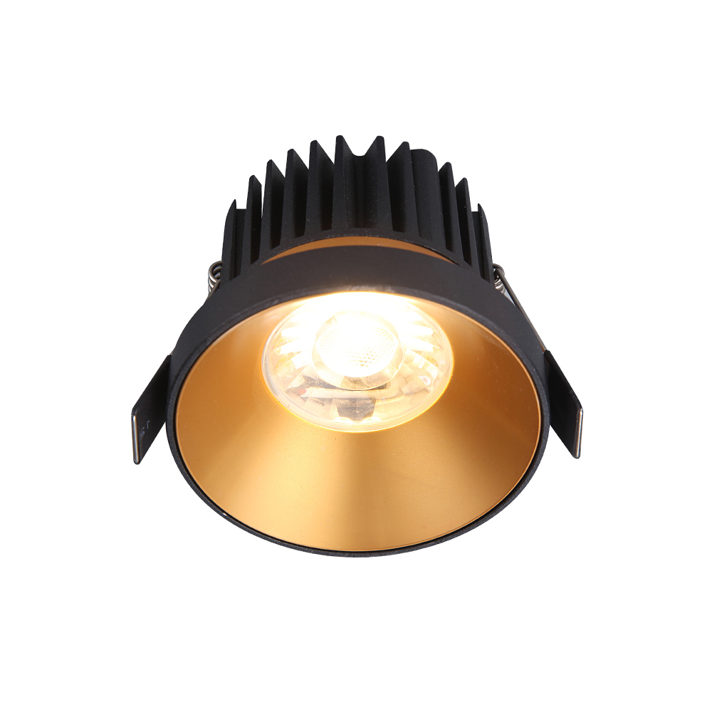 Architectural Project 10W Single Twin Spot Classical Semi Fixed COB Downlight Led Recessed Lighting